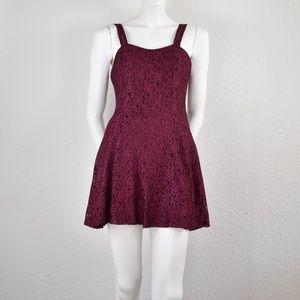 All That Jazz Vintage Lace Skater Dress Jrs 7/8